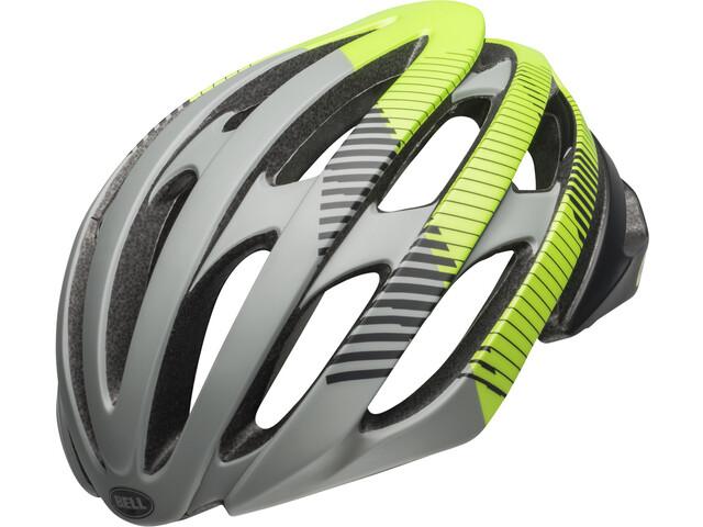 Bell Stratus MIPS Helm matte dark gray/black/lemon